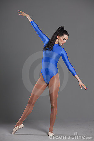 Gymnastic woman