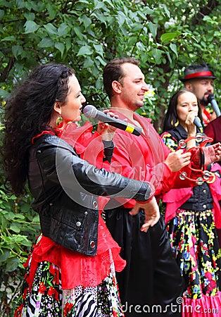 Free Gypsy Band Performing Stock Photos - 71199333