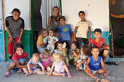 Gypsy Family In Bulgaria Editorial Photo Image 23465601