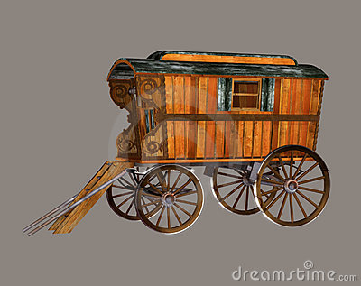 Gypsy Wagon Royalty Free Stock Photos - Image: 6050358