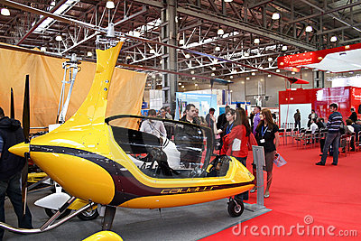 Gyroplane Calidus Editorial Stock Image
