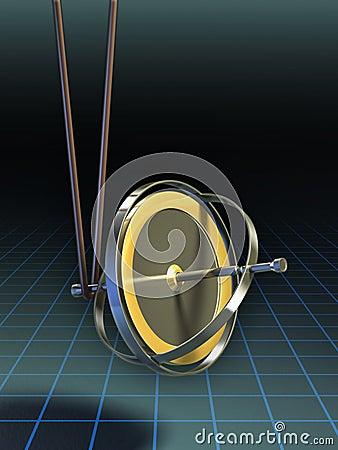 Gyroscope equilibrium