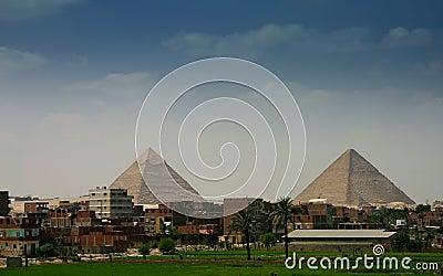Gyza piramids