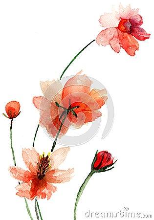 Härliga blommor