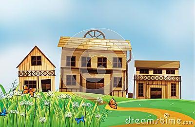 Häuser in der Nachbarschaft