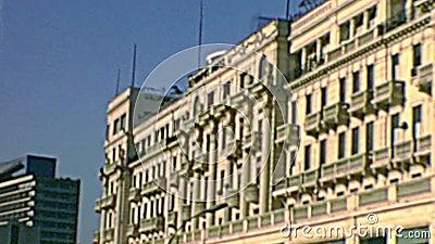 Hôtel InterContinental Cairo Semiramis banque de vidéos