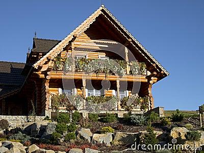Hölzernes Haus