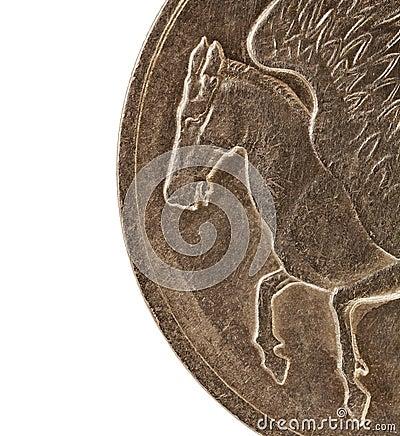 Häst påskyndade pegasus