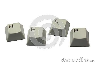 H E L P keys
