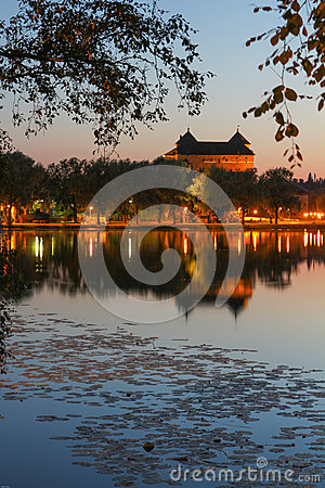Free Hämeen Linna Castle By Night Royalty Free Stock Images - 46106199