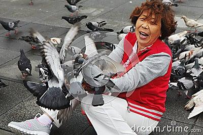 H7N9 threat in Taiwan Editorial Photo