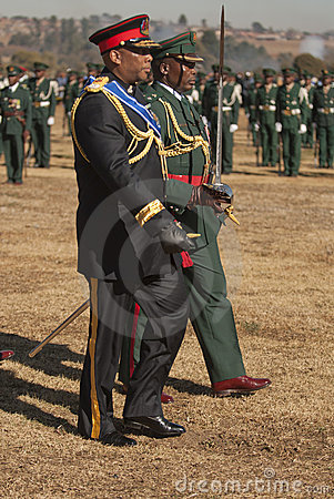 Free H.R.H King Letsie Of Lesotho Stock Photography - 18780052