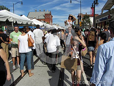 H Street Festival in September Editorial Image
