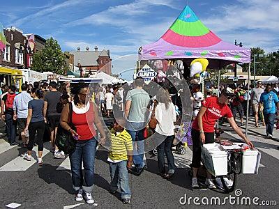 H Street Festival in Washington D.C. Editorial Photo