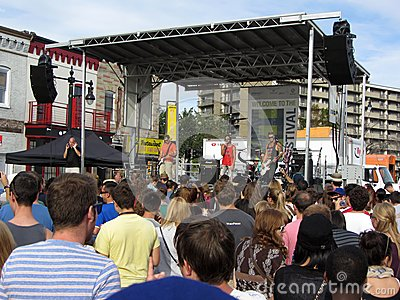 H Street Music Editorial Photo
