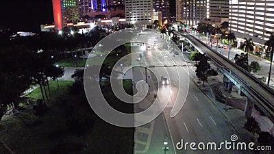 Hôtel intercontinental du centre de Miami clips vidéos