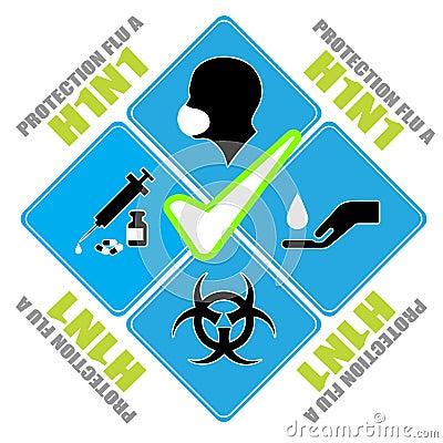 H1n1图标