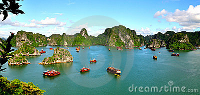 Ha Long Bay Editorial Photo