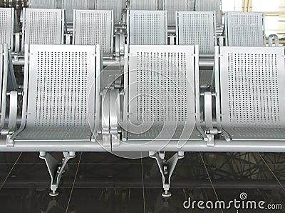 Ha Noi airpot seats Stock Photo