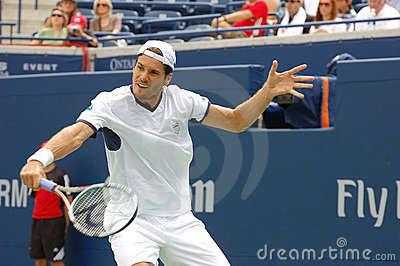 Haas Tommy at Rogers Cup 2008 14 Editorial Image