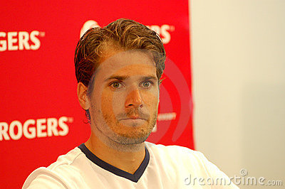 Haas Tommy at Rogers Cup 2008 32 Editorial Photo