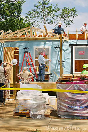 Free Habitat For Humanity Royalty Free Stock Image - 4442156
