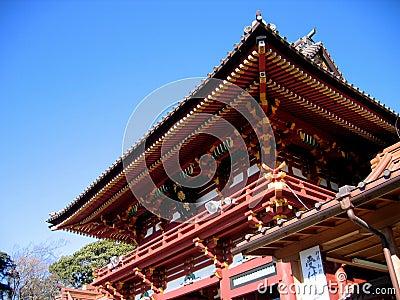 η hachiman λάρνακα kamakura της Ιαπωνίας