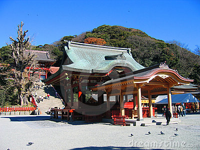 Hachiman Schrein - Kamakura, Japan