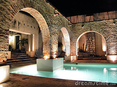 Hacienda Sepulveda s pool
