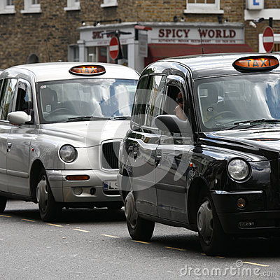 Hackney Carriage, London Taxi Editorial Photography