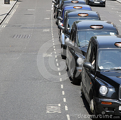 Hackney Carriage, London Taxi Editorial Photo