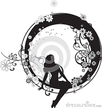 Hada en un círculo