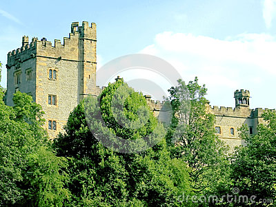 Haddon Hall, Bakewell, Derbyshire. Editorial Stock Image