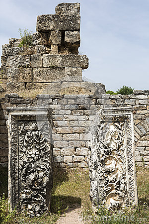 Hadrian bath of Aphrodisias in Aydin