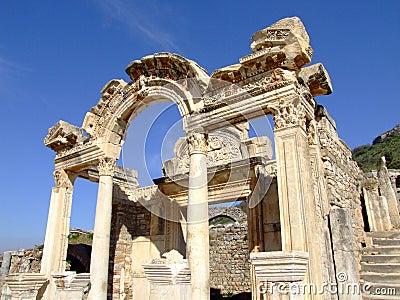 Hadrian do świątyni