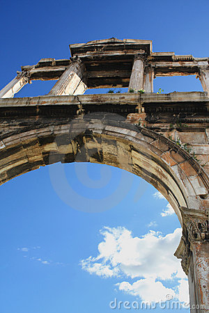 Hadrian s Arch, Athens (Greece)
