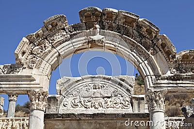 Hadrian s Temple, Ephesus, Izmir, Turkey