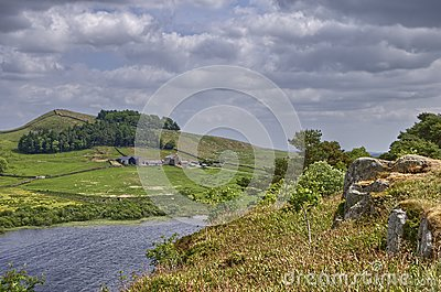 Hadrian s Wall and Crag Lough