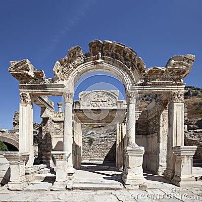 Hadrian Temple in Ephesus