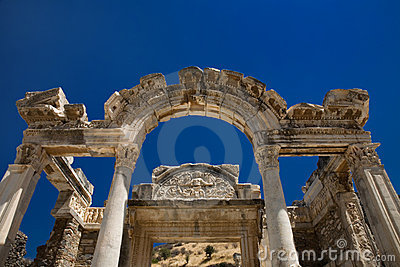 Hadrian temple in Ephesus