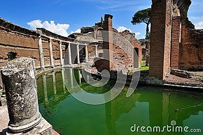 Hadrian Villa, Tivoli - The Maritime Theatre
