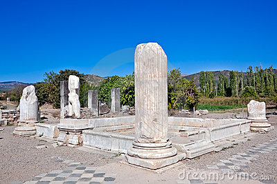 Hadrianic Baths in Aphrodisias