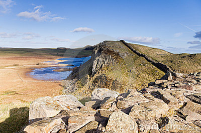 Hadrians Wall and Crag Lough