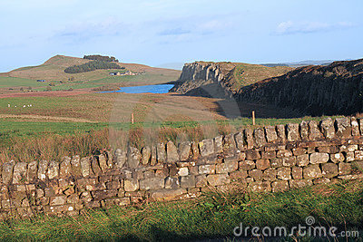 Hadrians Wall at Steel Rigg