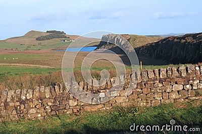 Hadrians Wall at Steel Rigg