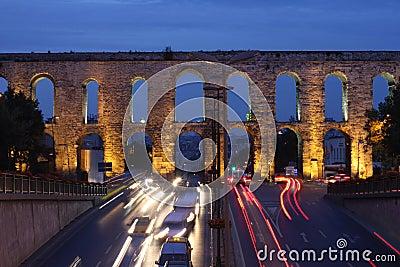 Hadrianus Aqueduct in Istanbul