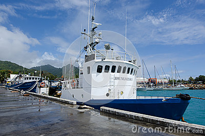 Hafen von Avatiu - Insel von Rarotonga, Koch Islands Redaktionelles Stockfoto