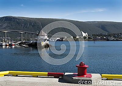 Hafen von Tromso