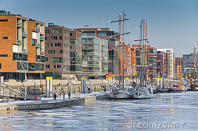 Hafencity Editorial Stock Photo