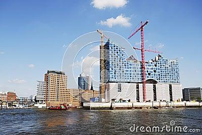 Hafencity Hamburg Editorial Photo